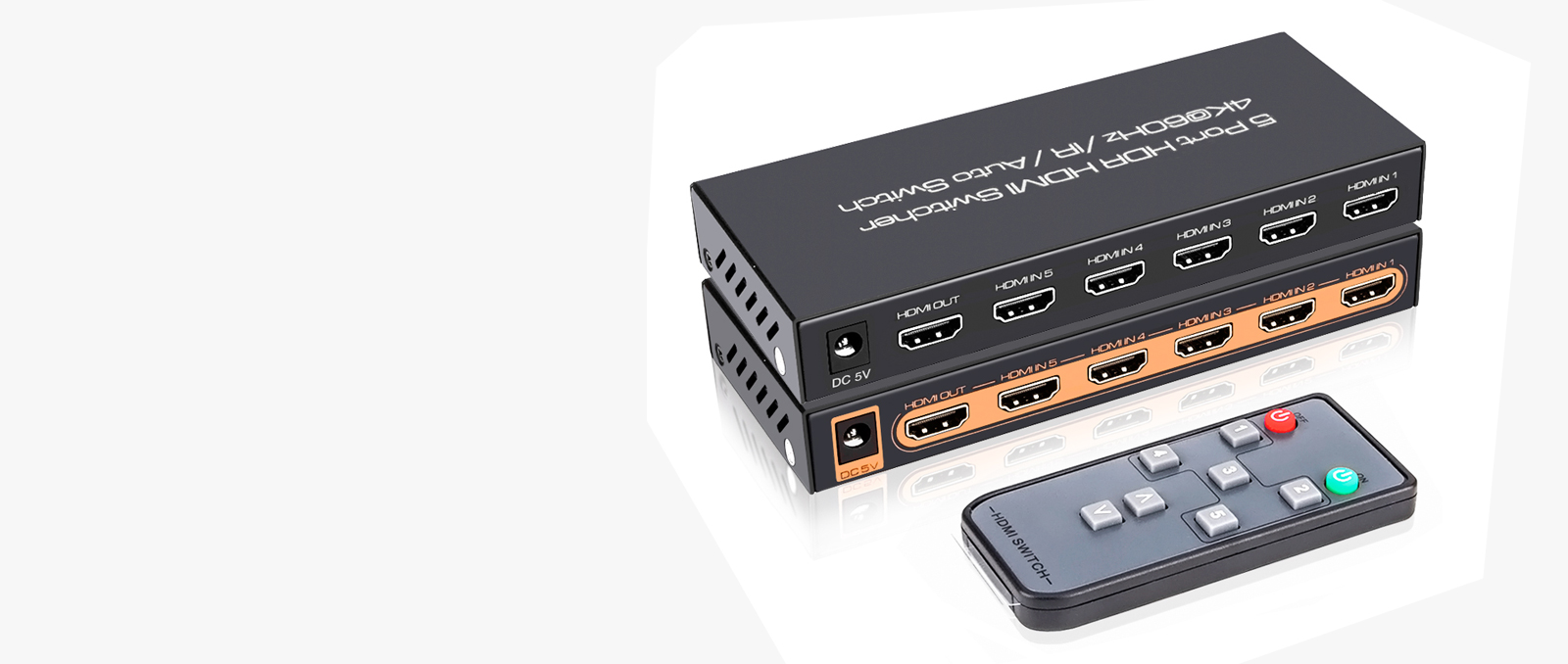 ROOFULL-HDMI-2.0-HDR-SWITCH-SWITCHER-4K-60HZ-HDCP-2.2